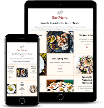 why wordpress is perfect for restaurant websites